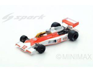 Spark Model S4361 MC LAREN M23 J.MASS 1976 N.12 5th MONACO GP 1:43 Modellino