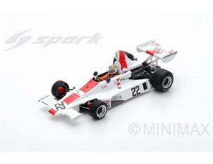 Spark Model S5674 HILL GH1 VERN SCHUPPAN 1975 N.22 RETIRED SWEDEN GP 1:43 Modellino