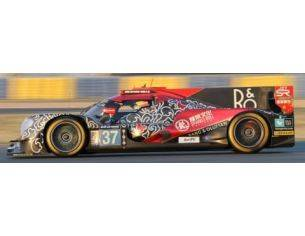 Spark Model S5823 ORECA 07 GIBSON N.37 4th LM 2017 CHENG-GOMMENDY-BRUNDLE 1:43 Modellino