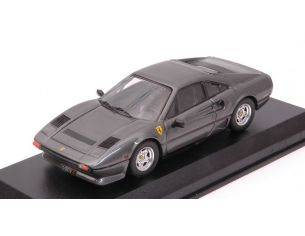 Best Model BT9682 FERRARI 208 GTB TURBO 1980 GRIGIO MET.1:43 Modellino