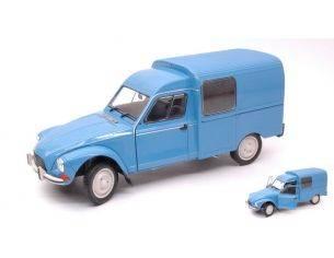 Solido SL1800401 CITROEN ACADIANE 1984 PASTEL BLUE 1:18 Modellino