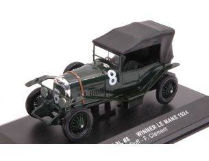 Ixo model LM1924 BENTLEY 3 L N.8 WINNER LM 1924 J.DUFF-F.CLEMENT RE-EDITION 1:43 Modellino