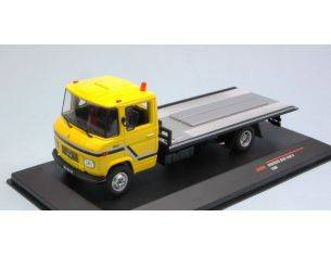 Ixo model CLC209 MERCEDES L608 D 1980 YELLOW RESCUE TRUCK 1:43 Modellino