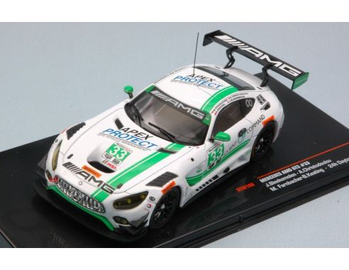 Ixo model GTM108 MERCEDES GT3 N.33 20th 24 H DAYTONA 2017 BLEEKEMOLEN-CHRIST.-FARNB.1:43 Modellino