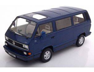 KK Scale KKDC180141 VW BULLI T3 MULTIVAN 1992 METALLIC BLUE 1:18 Modellino