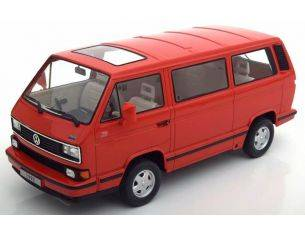 KK Scale KKDC180142 VW BULLI T3 MULTIVAN 1992 RED 1:18 Modellino