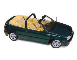 Norev NV188431 VW GOLF CABRIOLET 1995 BLUE GREEN METALLIC 1:18 Modellino