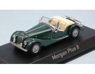 Norev NV270302 MORGAN PLUS 8 1980 BRITISH RACING GREEN 1:43 Modellino