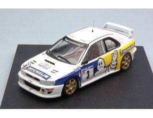 Trofeu TF1131 SUBARU IMPREZA WRC N.3 2nd TULIP RALLY 1998 B.DE JONG-T.HILLEN 1:43 Modellino
