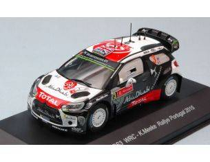 Trofeu TFMP504 CITROEN DS3 WRC N.3 4th R.PORTUGAL 2015 K.MEEKE-P.NAGLE 1:43 Modellino