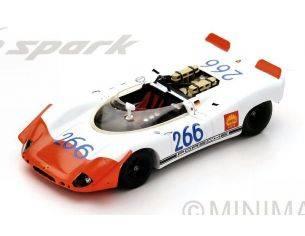 Spark Model S43TF69 PORSCHE 908/02 SPYDER N.266 WINNER T.FLORIO 1969 G.MITTER-U.SCHUTZ 1:43 Modellino