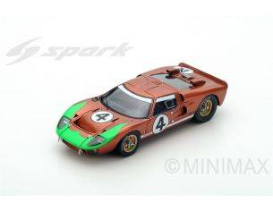 Spark Model S5181 FORD MK2 N.4 DNF LM 1966 M.DONOHUE-P.HAWKINS 1:43 Modellino