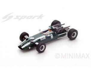 Spark Model S5291 COOPER T81J.RINDT 1966 N.8 3rd GERMAN GP 1:43 Modellino