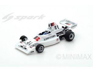 Spark Model S5300 ENSIGN N.174 R.WUNDERINK 1975 N.31 RETIRED SPAIN GP 1:43 Modellino