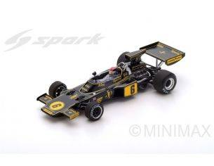 Spark Model S5347 LOTUS 72F J.CRAWFORD 1975 N.6 13th ITALIAN GP 1:43 Modellino