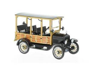 Neo Scale Models NEO46770 FORD MODEL T WOODY 1925 BLACK 1:43 Modellino