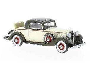 Neo Scale Models NEO46775 BUICK SERIES 66 SPORT COUPE' 1933 BEIGE/BROWN 1:43 Modellino