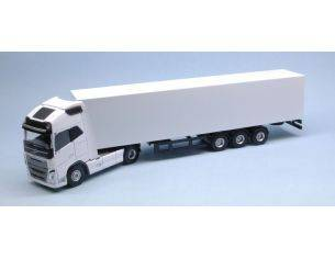 Universal Hobbies UH166000 VOLVO FH GLOBETROTTER XL 4x2 WITH TRAILER WHITE 1:50 Modellino