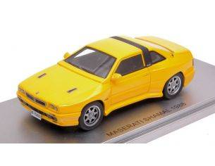 Kess Model KS43014022 MASERATI SHAMAL 1988 YELLOW ED.LIM.PCS 250 1:43 Modellino