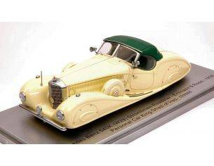 Kess Model KS43037013 MERCEDES 540K E & R 1936 PERSONAL CAR KING GHAZI  ED.LIM.PCS 250 1:43 Modellino