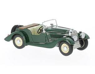 Neo Scale Models NEO46236 MORGAN 4/4 FLAT RADIATOR S1 1936 GREEN 1:43 Modellino