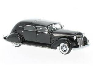 Neo Scale Models NEO46766 CHRYSLER IMPERIAL C-15 LE BARON CITY CAR 1937 BLACK 1:43 Modellino