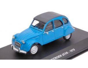 Solido SL4302000 CITROEN 2CV6 1978 BLUE 1:43 Modellino