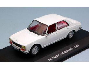 Solido SL4302100 PEUGEOT 504 BERLINE 1969 WHITE 1:43 Modellino