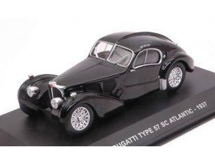 Solido SL4302500 BUGATTI TYPE 57 SC ATLANTIC 1937 BLACK 1:43 Modellino