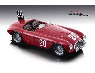 Tecnomodel TMD1852C FERRARI 166 MM N.20 WINNER 24 H SPA 1949 L.CHINETTI-J.LUCAS 1:18 Modellino