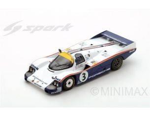 Spark Model S43LM83 PORSCHE 956 N.3 WINNER LM 1983 HOLBERT-HAYWOOD-SCHUPPAN REPROD.1:43 Modellino