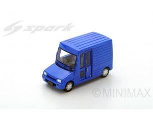 Spark Model SJ043 DAIHATSU MIRA WALK THROUGH VAN 1992 BLUE 1:43 Modellino