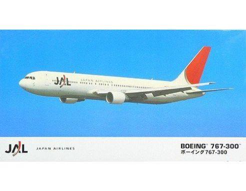 HASEGAWA 10705 BOEING 767-300  JAPAN AIRLINES 1:200 KIT Modellino