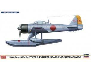 HASEGAWA 1561 E-2C HAWKEYE 2000 U.S. NAVY 1:72 KIT Modellino