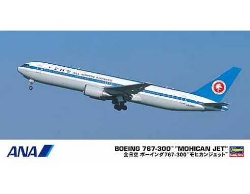 Hasegawa 10671 BOEING 767-300 MOHICAN JET KIT Aerei 1:200 Modellino