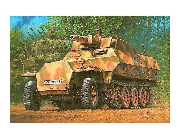HASEGAWA 31146 SD KFZ 251/9 STUMMEL 1:72 KIT Modellino