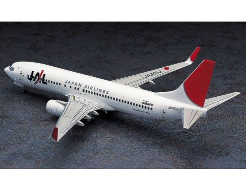 HASEGAWA 10736 BOEING 737-800 JAL JAPAN AIRLINES No.36  1:200 KIT Modellino
