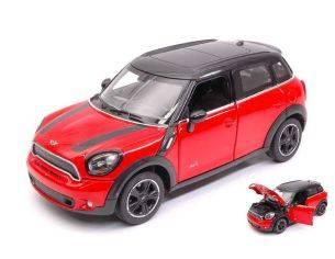 Ixo model RAT56400R MINI COOPER S COUNTRY (R60) RED/BLACK 1:24 Modellino