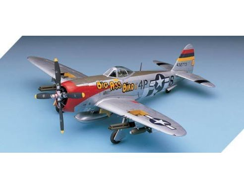 ACADEMY 2211 P-47D NOSE ART 1:48 Kit Modellino