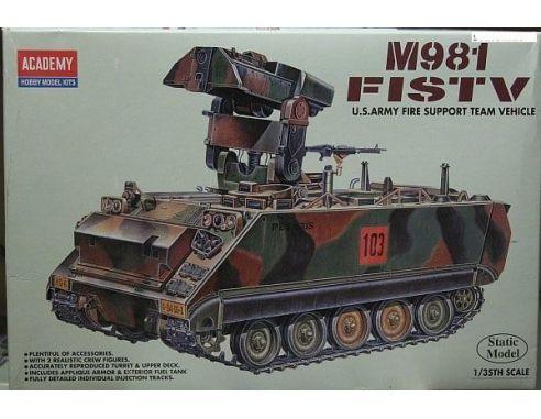 ACADEMY 1361 M981 FISTV 1:35 Kit Modellino