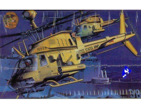 ACADEMY 2197 OH-58D KIOWA WARRIOR THUGS 1:35 Kit Modellino