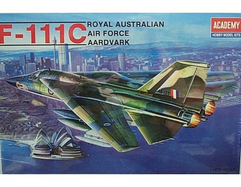 ACADEMY 1674 F-111C ROYAL AUSTRALIAN AIR FORCE 1:48 Kit Modellino