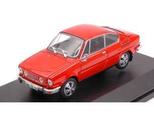 Abrex AB707BX SKODA 110R COUPE' 1980 RACING RED 1:43 Modellino