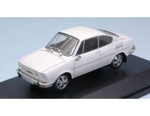Abrex AB707EH SKODA 110R COUPE' 1980 WHITE 1:43 Modellino