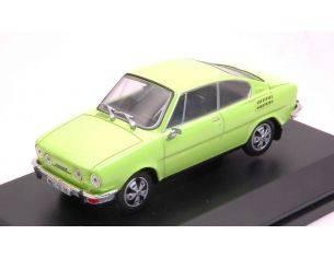 Abrex AB707QJ SKODA 110R COUPE' 1980 LIME GREEN 1:43 Modellino