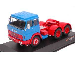 Ixo model TR012 HENSCHEL HS 19 TS 1966 LIGHT BLUE/RED 1:43 Modellino