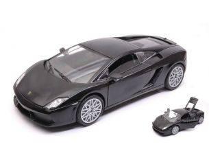 Motormax MTM73362BK LAMBORGHINI GALLARDO LP560-4 2009 BLACK 1:24 Modellino