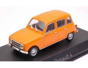 Norev NV510039 RENAULT 4 1974 ORANGE 1:43 Modellino