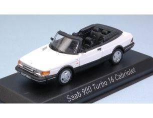 Norev NV810043 SAAB 900 TURBO 16 CABRIOLET 1992 WHITE 1:43 Modellino