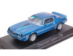 Norev NV900016 CHEVROLET CAMARO Z28 1980 BLUE METALLIC 1:43 Modellino